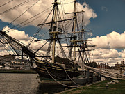 Sail Photographs Prints - Friendship of Salem Print by Lourry Legarde