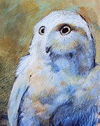 Owl Pastels - Fright by Tonja  Sell