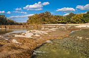 Ashe Photos - Frio River Dam at Garner State Park by Andre Babiak