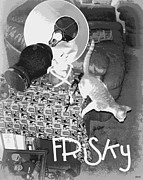 Frisky Photo Posters - Frisky Poster by Heidi Manly