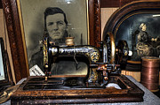 Frister And Rossmann - Old Sewing Machine Print by Kaye Menner