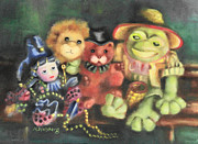 Mardi Gras Originals - Froggie and Friends by Marilyn Weisberg