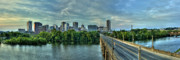 Richmond Virginia Prints - From Across The James Print by Tim Wilson
