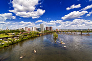Richmond Virginia Prints - From Afar Print by Tim Wilson