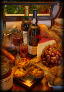 Merlot Photo Metal Prints - From Lisbon with Love Metal Print by Lee Dos Santos