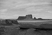 Monument Valley Framed Prints - From Mystery Valley Framed Print by Mike Herdering