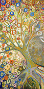 Klimt Painting Originals - From Out of the Rubble Part B by Jennifer Lommers