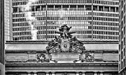 Minerva Framed Prints - From Park Avenue BW Framed Print by JC Findley