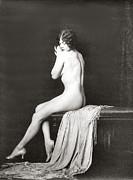 Nudes Posters - From Risque Postcard Collection 10 Poster by Studio Photographer