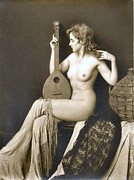 Nude Digital Art - From Risque Postcard Collection 5 by Studio Photographer