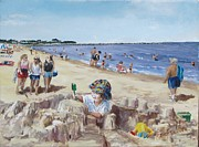 Jack Skinner Paintings - From Sandcastles to College by Jack Skinner