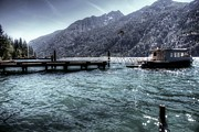 Lake Chelan Prints - From Stehekin Washington Print by Spencer McDonald