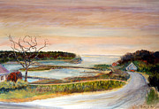Maine Coast Prints - From Stonington Maine Print by Pamela Parsons