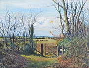 Stratford Paintings - From Stony to Calverton by Barry BLAKE