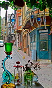 Balat Photos - From the glass-makers window by Ayse Taskiran
