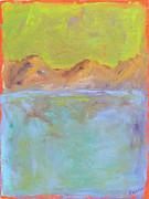 Custom  Studio Paintings - From The Mountains To The Sea by Paulette Wright