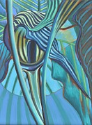 Semi Abstract Originals - From The Pulpit by Paul Gable