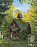 Original Fall Landscape Paintings - From This Day Forward by Doug Kreuger