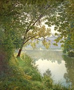 Photorealistic Painting Posters - From Waters Edge Poster by The Collection