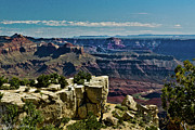 From Yaki Point 2 Grand Canyon Print by  Bob and Nadine Johnston