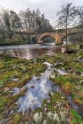 North Wales Digital Art Metal Prints - Froncysyllte Bridge Metal Print by Adrian Evans