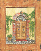 Decor Framed Prints - Front Door 2 Framed Print by Debbie DeWitt