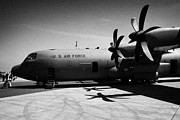 C130 Prints - Front of United States Air Force AETC CC130J cc130 c130 c 130 130j Hercules aircraft Print by Joe Fox