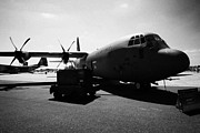 C130 Prints - Front of United States Air Force AETC CC130J Hercules aircraft c130 c 130 Print by Joe Fox