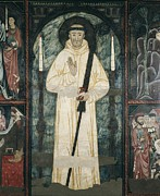 Medieval Temple Art - Frontal Of The Altar Of Saint Bernard by Everett