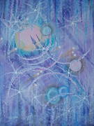 Frosticles Print by Krystyna Spink