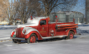 J Laughlin - Frosty Firefighter