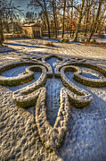 Garden Ornaments Prints - Frozen garden  Print by Nathan Wright