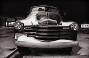 Chevy Pickup Photo Prints - Frozen in Time Print by Ken Smith