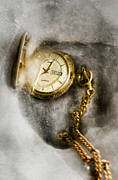Clock Hands Photo Prints - Frozen In Time Print by Peter Chilelli