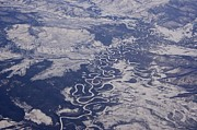 Featured On Fineart America - Frozen Meander by Sean Griffin