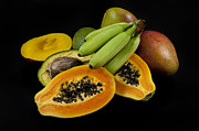 Mango Framed Prints - Fruit Framed Print by Alessandro Matarazzo