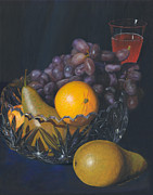 Michelle Moroz-Chymy - Fruit and Crystal