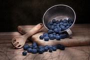 Blueberries Posters - Fruit Cup Still Life Poster by Tom Mc Nemar