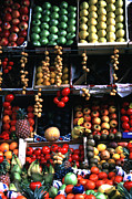 Inviting - Fruit Display Streets of Paris by Tom Wurl