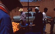 Fruit Market Casablanca 1996 Print by Rolf Ashby