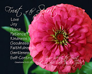 Self-control Prints - Fruit of the Spirit Print by Cheryl Burkhardt