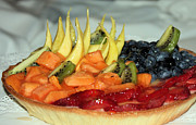 Fruit Tart Print by Kristin Elmquist