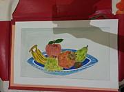 Fruit Trey Print by Ramroop Yadav