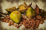Autumn Leaf Prints - Fruits Print by Angela Doelling AD DESIGN Photo and PhotoArt