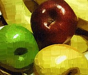 Altered Photograph Photos - Fruits by Diane  Miller