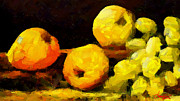 Vincent Dinovici Art - Fruits on a table TNM by Vincent DiNovici