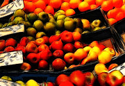 Grocer Prints - Fruits on the Market Print by Stefan Kuhn
