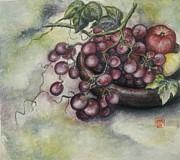 Fruits Print by Tomoko Koyama
