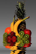 Food - Fruity Reflections - Medium by Shane Bechler