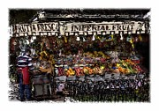 Fruit Stand Framed Prints - Frutta Fresca #2 Framed Print by Tom Griffithe